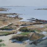Basse mer à Concarneau