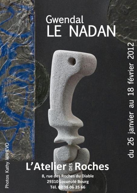 à LOCUNOLE Expo de Gwendal LE NADAN du 26 janvier au 18 février 2012 dans AGENDA 396510_10151187117135123_498306045122_22264784_663234091_n