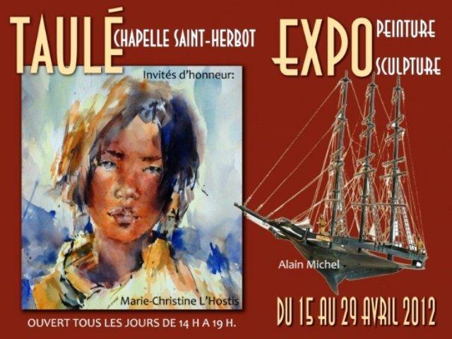 à Taulé Exposition de peintures et de Sculptures du 15 au 29 avril 2012 dans ACTUALITE DES ARTISTES exposition-a-st-herbot-a-taule-du-15-au-29-avril