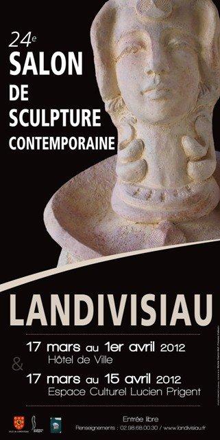 à Landivisiau - le 24ème Salon de Sculpture Contemporaine - du 17 mars au 15 avril 2012 dans ACTUALITE DES ARTISTES Affiche_Salon_Sculpture_2012