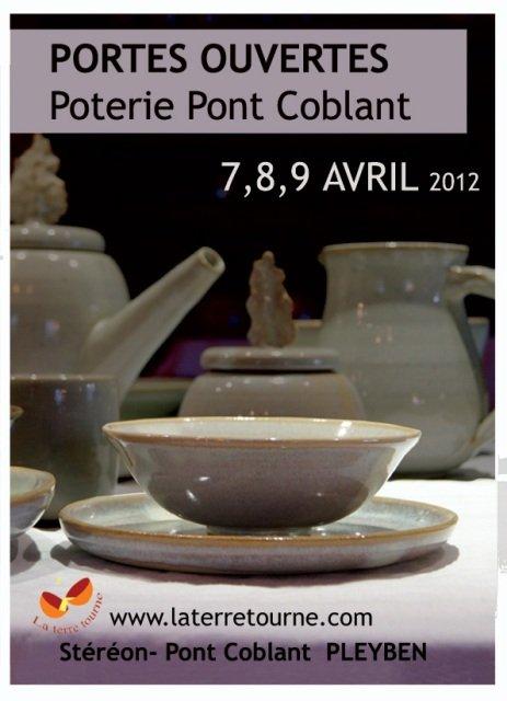 à Pont-Coblant - Portes ouvertes de l'atelier de Poterie - les 7,_ et 9 avril 2012 dans ACTUALITE DES ARTISTES La-terre-tourne-avril-2012