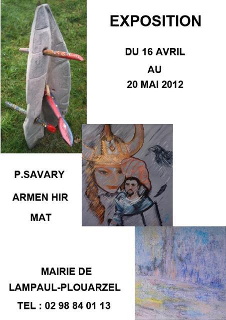 à Lampaul-Plouarzel 3 artistes du Finistère exposent du 16 avril au 20 mai 2012 dans ACTUALITE DES ARTISTES expo-lampaul-plouarzel