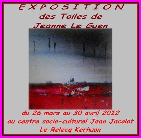 au Relecq-Kérhuon - Exposition des toiles de Jeanne Le Guen - du 26 mars au 30 avril 2012 dans ACTUALITE DES ARTISTES DSCN1021_cr