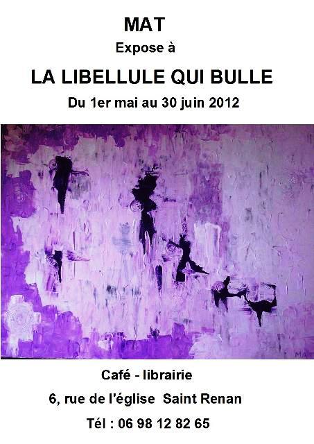 à Saint Renan - Exposition des toiles de MAT du 1er mai au 30 juin 2012 dans ACTUALITE DES ARTISTES expo-MAT-0-sAINT-RENAN-du-1er-mai-au-30-juin-20121