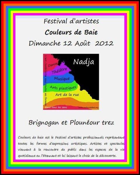 Le dimanche 12 aout 2012 à Brignogan et Plounéour Trez - Festival d'Artistes