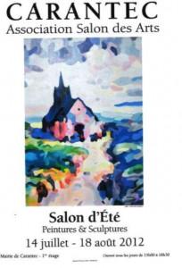 à Carantec - Salon d'été - Peintures et Sculptures du 14 juillet au 18 août 2012 dans ACTUALITE DES ARTISTES salon-été-carantec-2012-204x300