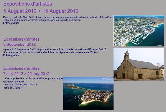 Expositions Juillet - aout -septembre de Yves Ferrec dans ACTUALITE DES ARTISTES Capt_120716_091450_001