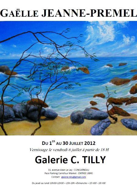 à CONCARNEAU - Exposition des toiles de Gaëlle JEANNE-PREMEL - du 1er au 31 juillet dans ACTUALITE DES ARTISTES GAELLE-JEANNE-PREMEL-2012