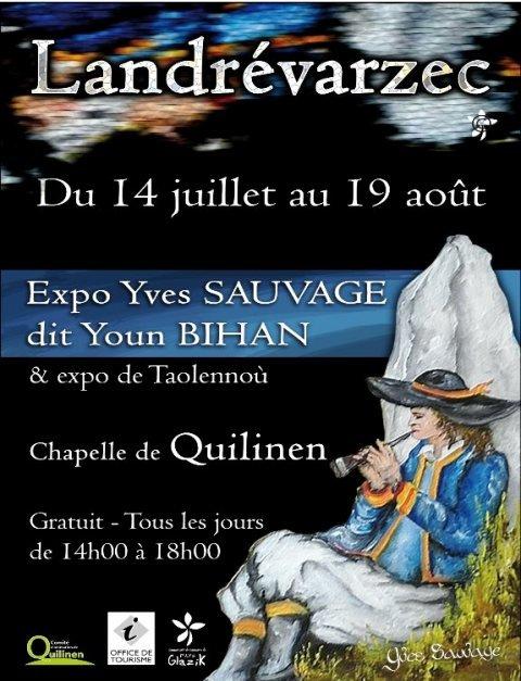 à LANDREVARZEC - Exposition de Youn et de Taolennoù du 14 juillet au 19 août 2012 dans ACTUALITE DES ARTISTES youn-juillet-2012