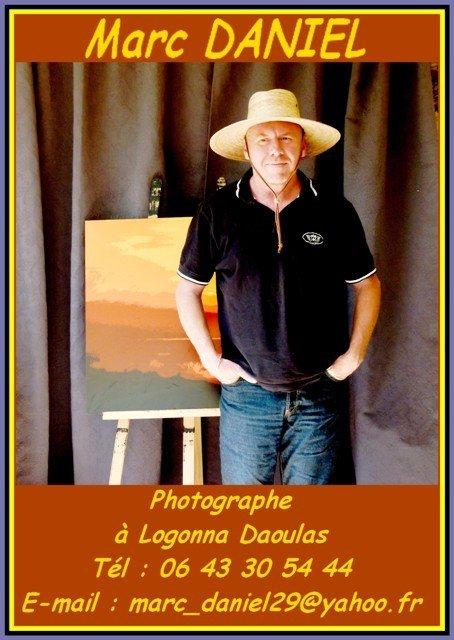 Marc DANIEL dans ACTUALITE DES ARTISTES autoportrait