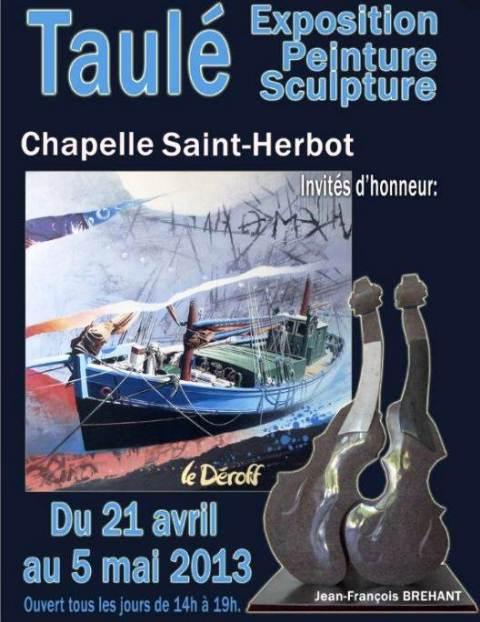 TAULE - Exposition de peintures et de sculptures du 20 avril au 5 mai 2013 dans LANDEDA expo-taule-2013