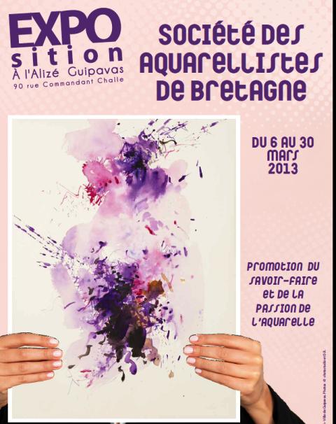 à Guipavas - Exposition d'aquarelles du 6 au 30 mars 2013 dans LANDEDA guipavasexpo