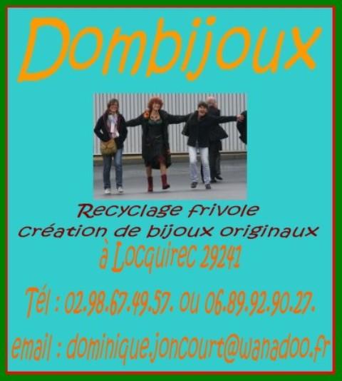 Dombijoux - Dominique JONCOURT dans AGENDA val00