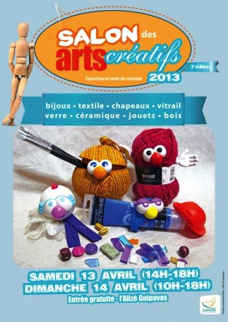 à Guipavas - Salon des Arts Créatifs - les 13 et 14 avril 2013 dans AGENDA 554017_606390039389568_2026064302_n