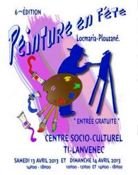 à Locmaria-Plouzané - 6ème édition de Peinture en Fête les 13 et 14 avril 2013 dans AGENDA capt__h095516_001