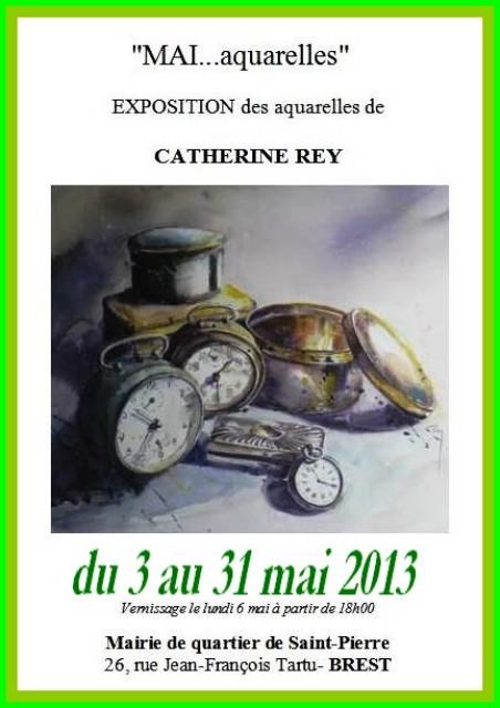 à BREST - Exposition des oeuvres de Catherine REY - du 3 au 31 mai 2013 dans ACTUALITE DES ARTISTES capt__h102724_001