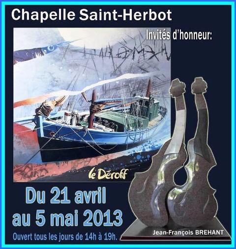 à TAULE - Exposition à la Chapelle Saint-Herbot - du 21 avril au 5 mai 2013 dans AGENDA capt__h110113_001
