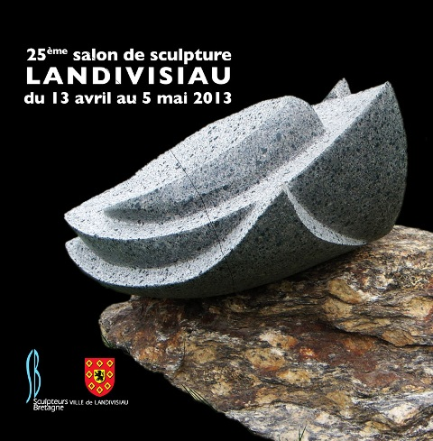 à LANDIVISIAU Le 25ème salon de sculpture contemporaine du 13 avril au 5 mai 2013 dans AGENDA couverture-2013