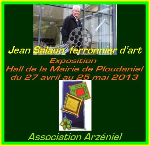 à PLOUDANIEL - Exposition des ferronneries d'Arts de Jean Salaün - du 27 avril au 25 mai 2013 dans LANDEDA jean-salaun-ferronier-dart