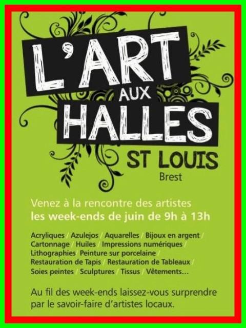 à Brest - Tous les week-end de juin 2013 - L'Art aux Halles Saint louis dans AGENDA capt__h230116_0012