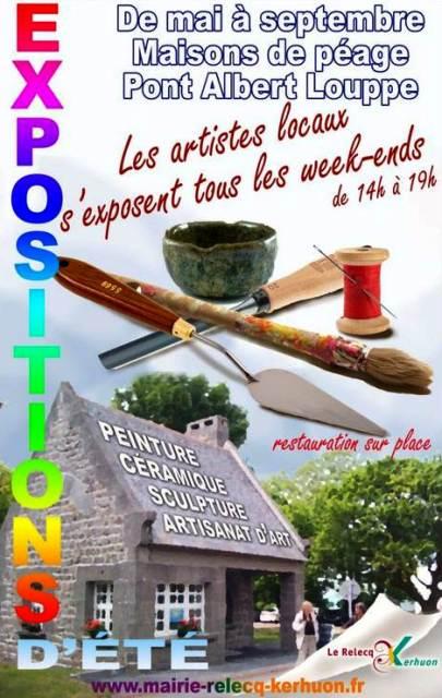 Au Relecq-Kérhuon - Les Expositions de l'été - chaques Week-ends - du 8 mai au à Septembre 2013 dans ACTUALITE DES ARTISTES expo-pon-albert-louppe