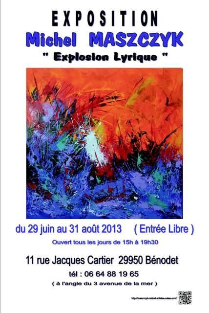 à Bénodet Michel MASZCZYK Expose ses toiles du 29 juin au 31 août 2013 dans AGENDA maszczyk-michel-juin-aout-2013