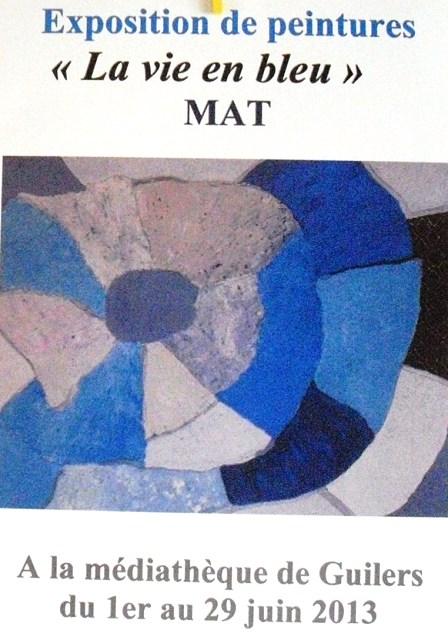 à Guilers - MAT expose ses peintures