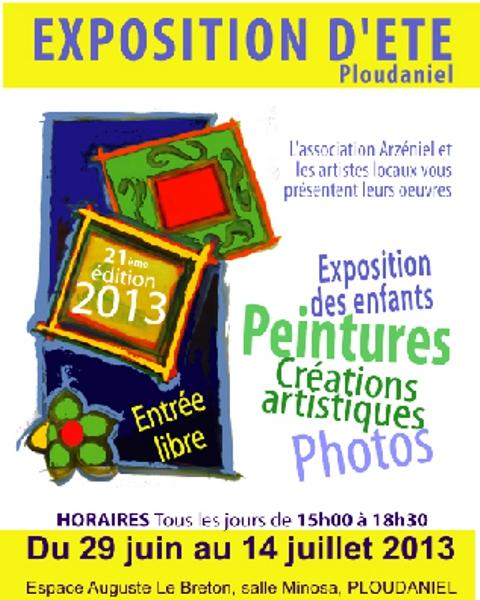 à Ploudaniel - 21ème édition de l'EXPOSITION D'ÉTÉ - du 29 juin au 14 juillet 2013 dans AGENDA 2013-1