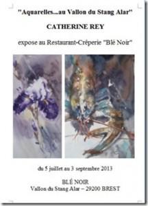à Brest - Exposition des Aquarelles de Catherine REY - du 5 juillet au 3 septembre 2013 dans AGENDA affiche20en20jpeg21-216x300
