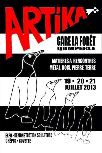 à Quimperlé - ARTIKA  - Exposition-Démonstration de sculpture - les 19, 20 et 21 juillet 2013 dans AGENDA 2013-artika-quimperle