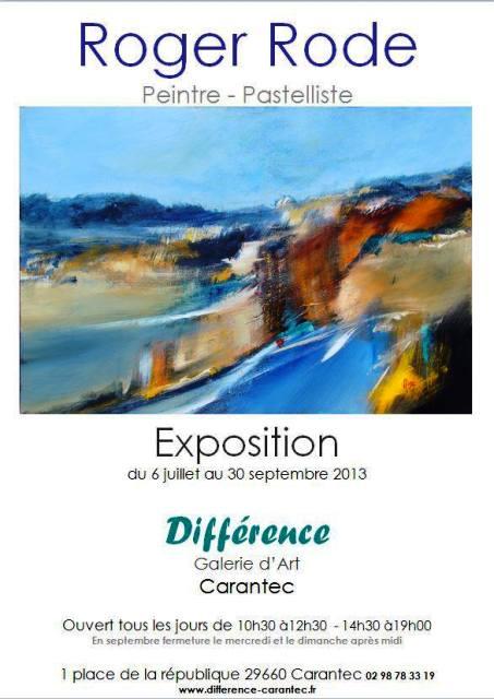 à CARANTEC - Exposition des toiles de Roger RODE - du 6 juillet au 30 septembre 2013 dans ACTUALITE DES ARTISTES 2013-roger-rodeete-2013