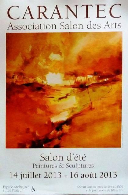 à Carantec  - Salon d'été - Peintures et Sculptures - du 14 juillet au 16 août 2013 dans ART ARTS 2013-salon-ete-carantec