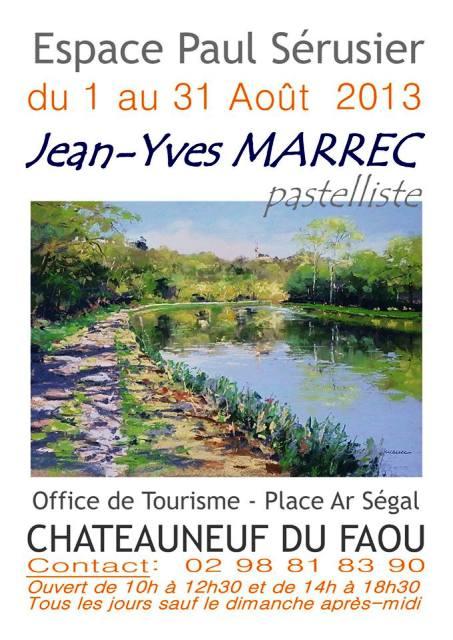 Chateauneuf du faou exposition des pastels de jean - Office du tourisme chateauneuf du faou ...