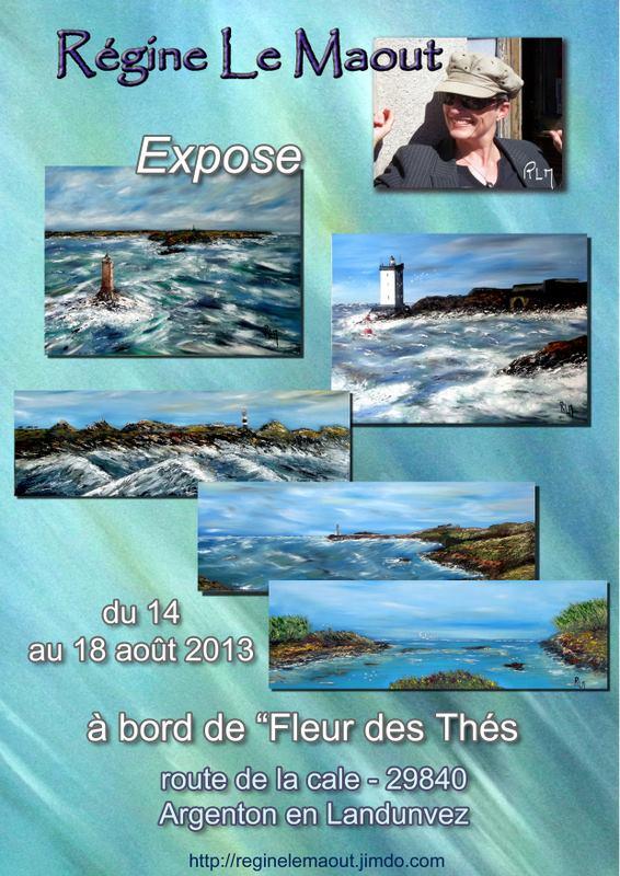 à Argenton en LANDUNVEZ - Régine Le Maout expose ses toiles - du 14 au 18 août 2013 dans AGENDA 27295_1404790646401568_413316385_n