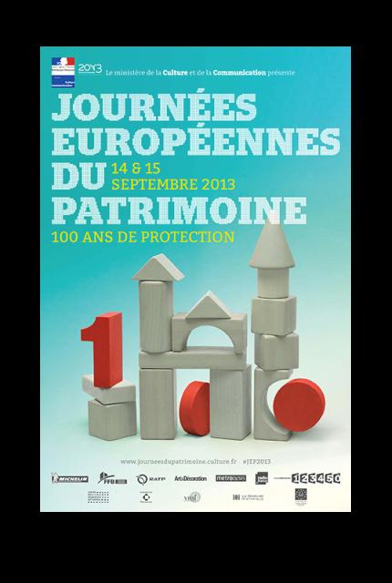 Programme des Journées Européennes du Patrimoine (JEP) les 14 et 15 septembre 2013 dans AGENDA visuel_presse