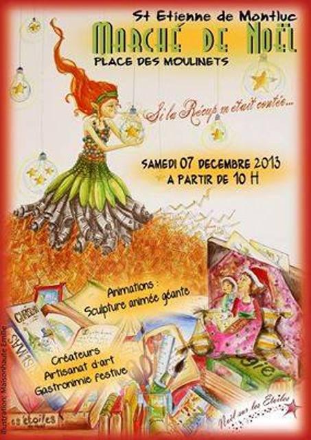 à Saint-Etienne-de-Montluc  Marché de Noël samedi 7 décembre 2013 dans LANDEDA 1237889_537126153023134_1093967623_n