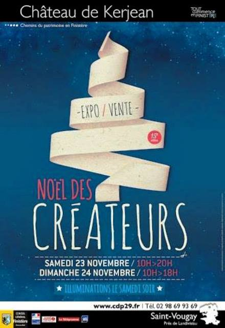 à Saint-Vougay - au Château de Kerjean - Noël des Créateurs - les 23 et 24 novembre 2013 dans AGENDA 1376608_578785902188054_796733224_n