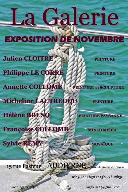 à AUDIERNE - Exposition du mois - Novembre 2013 dans AGENDA 1385139_10201310089608065_263842396_n