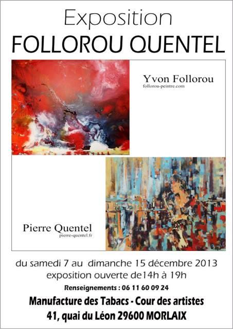 A Morlaix - Exposition de peinture Yvon FOLLOROU et Pierre QUENTEL - du 7 au 15 décembre 2013 dans AGENDA 1473025_10201076082687098_1601144549_n