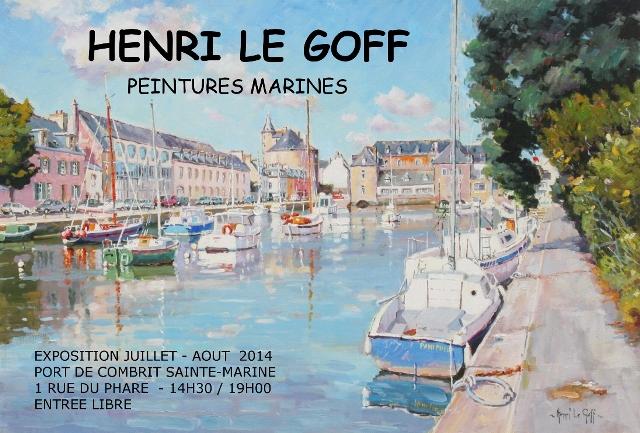Henri Le Goff exposition 2014 Sainte Marine - Pont L Abbé