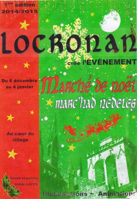 Marché de Noël Locronan 001