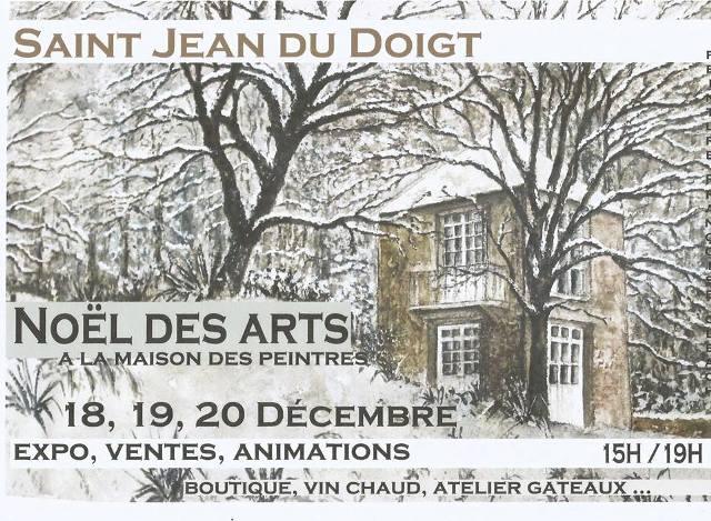 29 saint jean du doigt no l des arts la maison des peintres les 18 19 et 20 d cembre - La maison du peintre ...